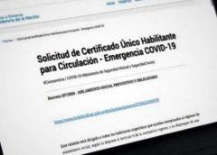 """Nuevo """"Certificado Único Habilitante para Circulación – Emergencia COVID-19"""""""